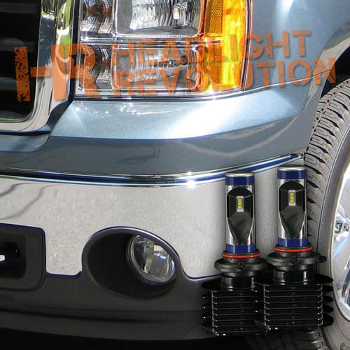 2007 - 2018 GMC Sierra LED Fog Lights Upgrade Kit - 3rd Generation