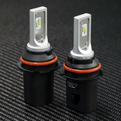 GTR Lighting CSP Mini LED Headlights, 9007 Bulbs