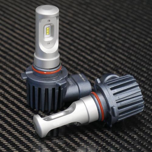 GTR Lighting CSP Mini LED Headlights, 9006 Bulbs
