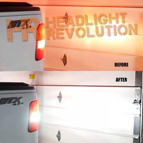 2008 Ford F-150 1000lm LED Reverse Lights