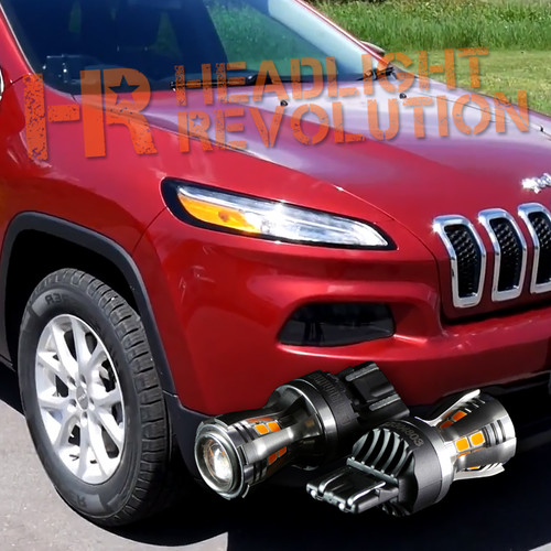 2014-2017 Jeep Cherokee LED Front Turn Signal Kit