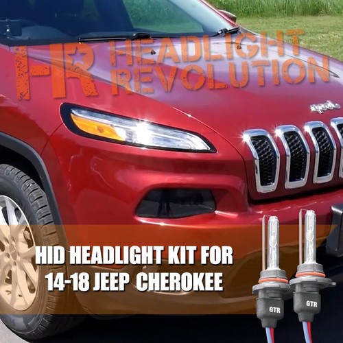 JEEP Cherokee HID Headlight Upgrade