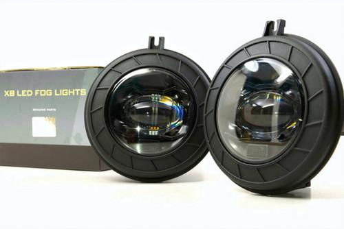 "Morimoto XB LED: Dodge / Jeep (4"" Round) Fog Light Set"