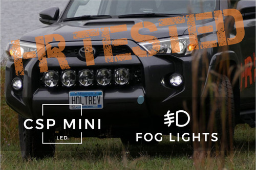 2014 - 2019 Toyota 4Runner GTR Lighting CSP Mini LED (Fog Lights)