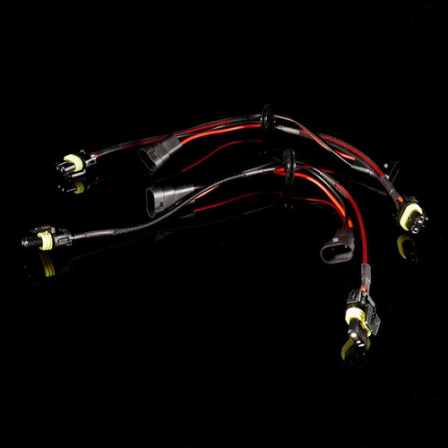 GTR Lighting 9005 / 9006 Style Pass-Through Harnesses with Grommet