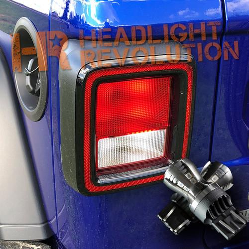 Jeep Wrangler JL LED rear turn signal bulbs