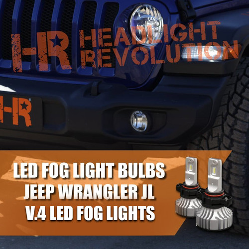 V.4 Fog Light Upgrade for Jeep Wrangler JL