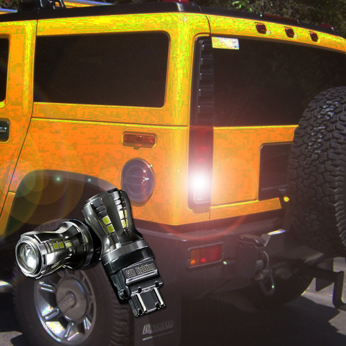 2002-2009 Hummer H2 LED Reverse Light Bulb Upgrade - Armor Series