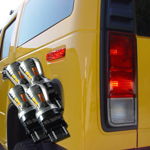 2002-2009 Hummer H2 LED Tail Light bulbs Upgrade Kit