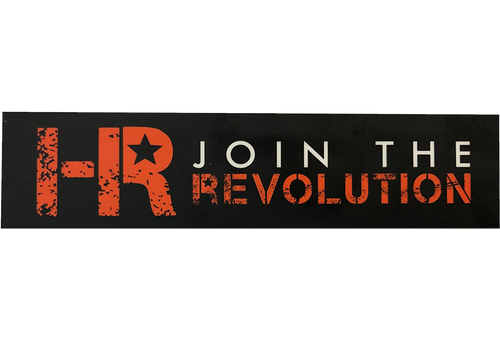 HR - Join The Revolution Sticker