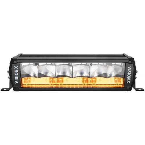 "12"" Shocker Dual Action LED Light Bar | Race Amber Elliptical"