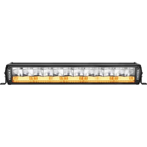 "20"" Shocker Dual Action LED Light Bar   Amber Elliptical"