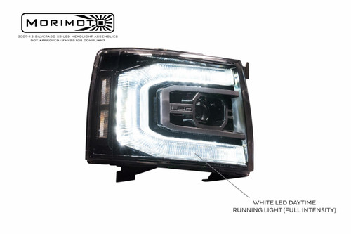 2007-2013 Chevrolet Silverado XB LED Headlights
