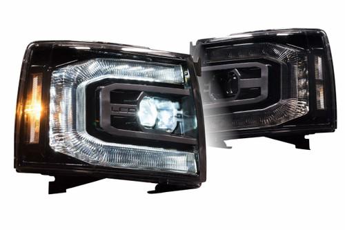 2007-2013 Chevrolet Silverado XB LED Headlights