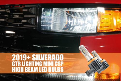 2019+ Chevrolet Silverado 1500 Custom CSP Mini High Beam Bulbs
