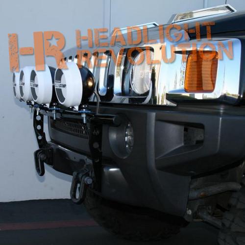 N-FAB 04-10 Hummer H3/H3T Front Light Mount