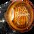 Vision X OPTIMUS ROUND SERIES PCV YELLOW COVER EURO BEAM