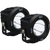 Vision X OPTIMUS ROUND BLACK 1 10W LED 10 NARROW 2 LIGHT KIT