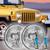 1997-2006 Jeep Wrangler TJ Halogen Headlight Housings Kit