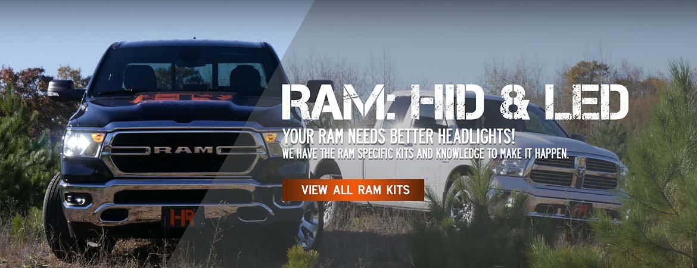 Ram Lighting Upgrades