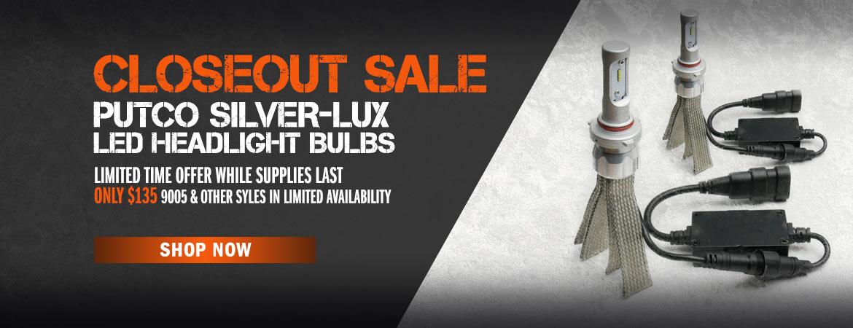 Putco Silver-Lux Closeout Sale $135
