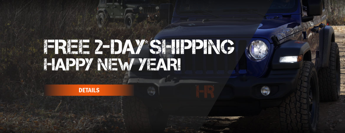 Free Two-Day Shipping! Happy New Year from Headlight Revolution