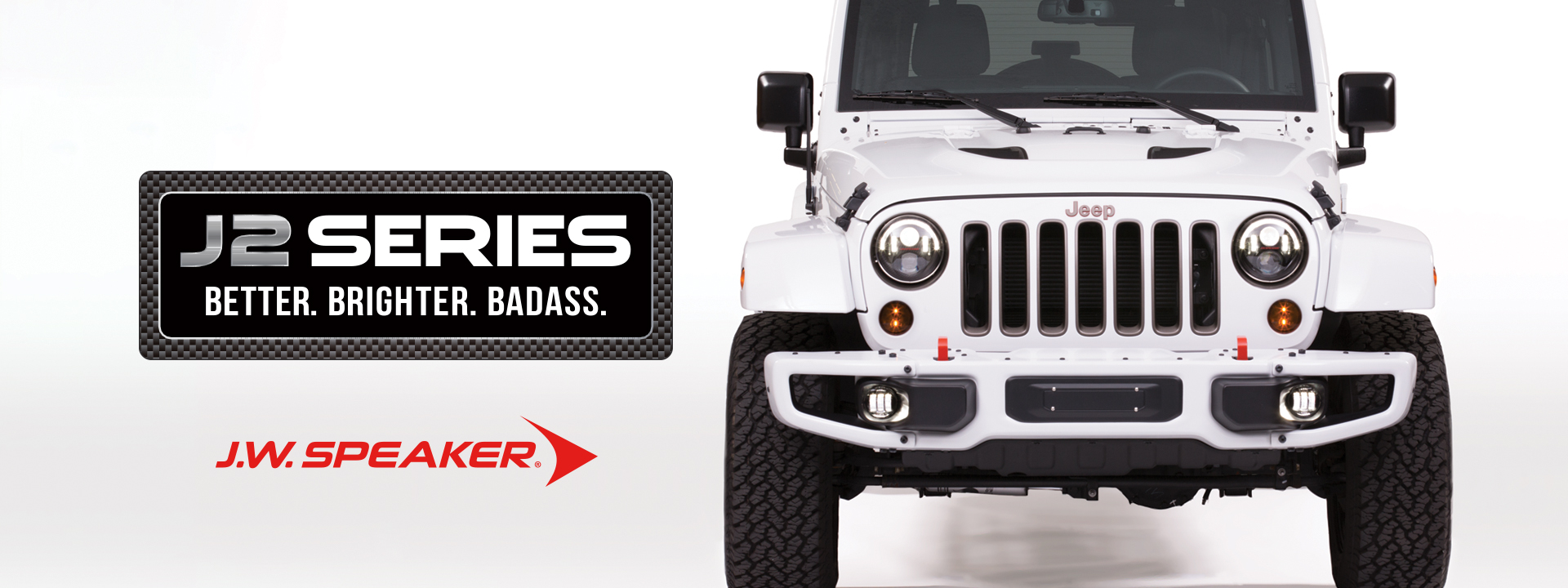 JW Speaker J2 LED Jeep Lighting Series