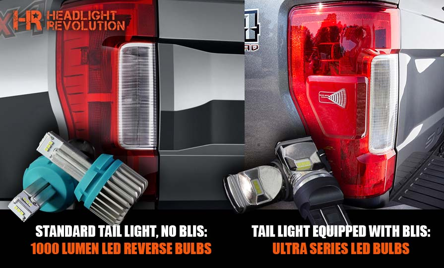 Super Duty Tail Light Types and LED Reverse Bulbs