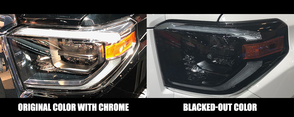 Tundra LED Headlight Colors