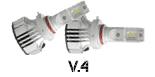 V.4 LED Headlight Bulbs