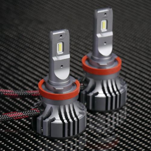 V 4 Led Headlights  H11    H16 Bulbs