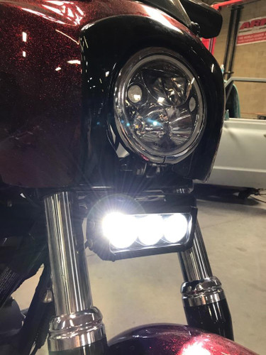 Vision X Motorcycle Universal Led Light Bar Kit