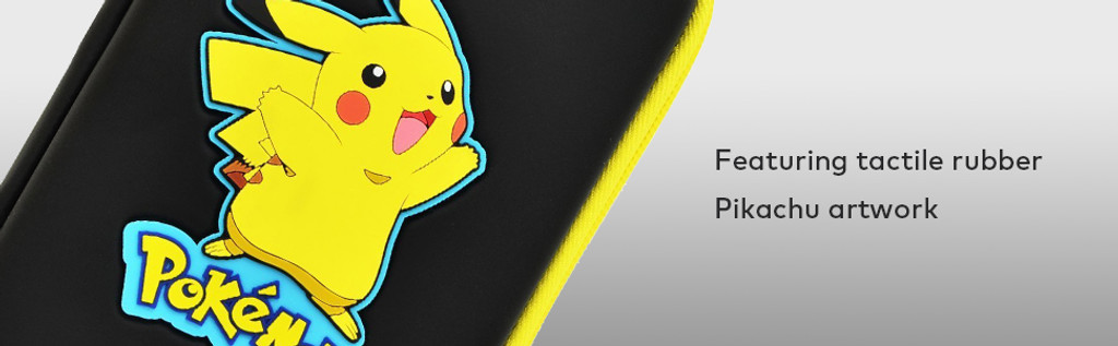 New Pikachu Hard Pouch for the New Nintendo 3DS XL