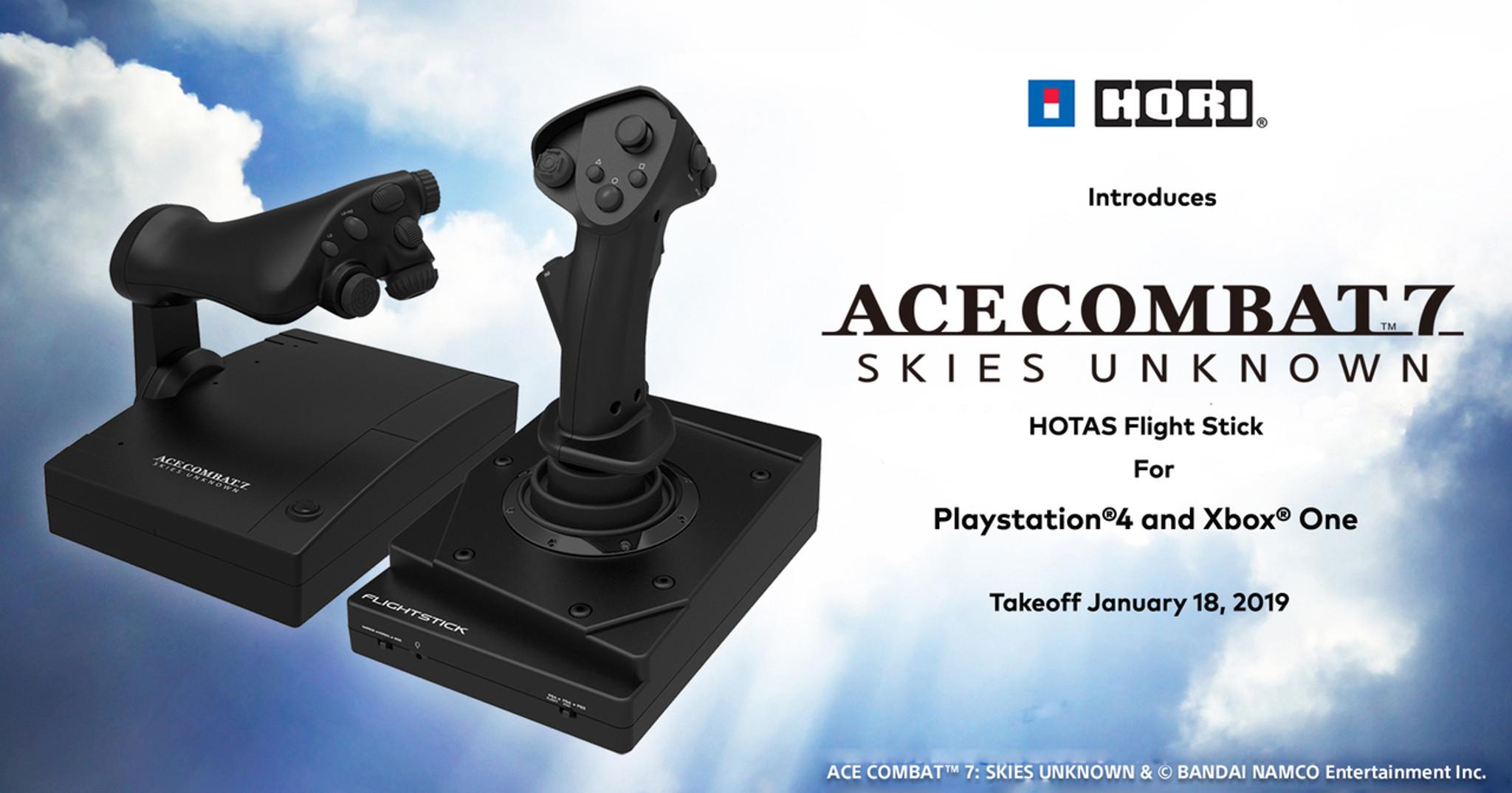 Ace Combat 7 HOTAS Flight Stick for PlayStation 4