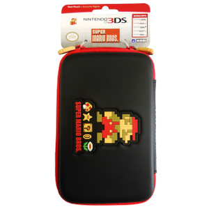 Retro Mario Hard Pouch for the New Nintendo 3DS XL
