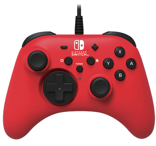HORIPAD (Red) for Nintendo Switch
