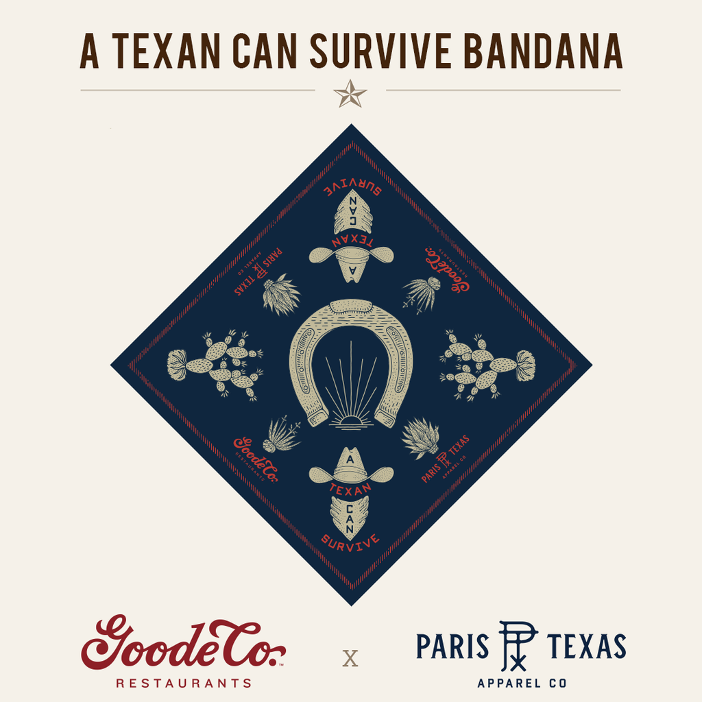 Goode Co. x Paris TX Apparel Co. collab to benefit Feed The Front Line