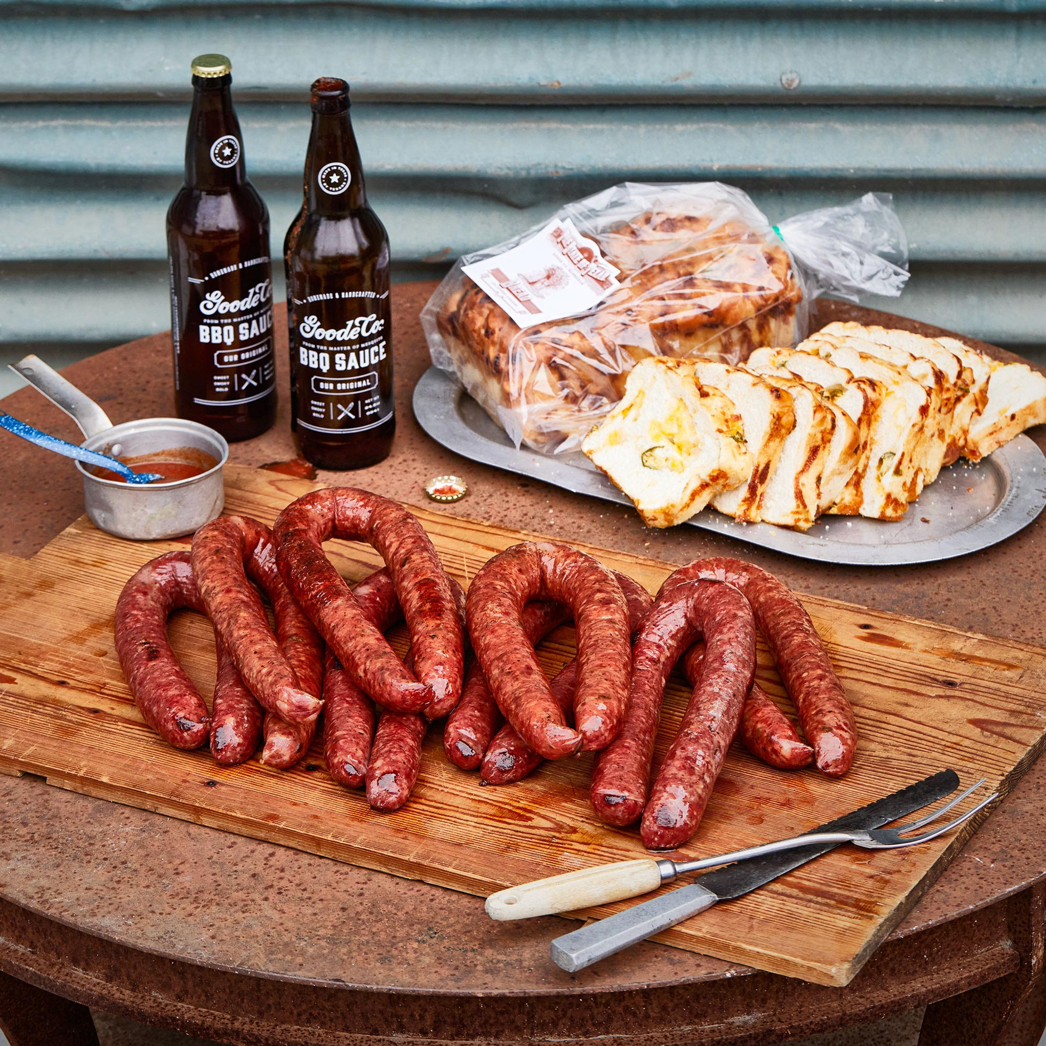 Texas Sized Sausage Sampler