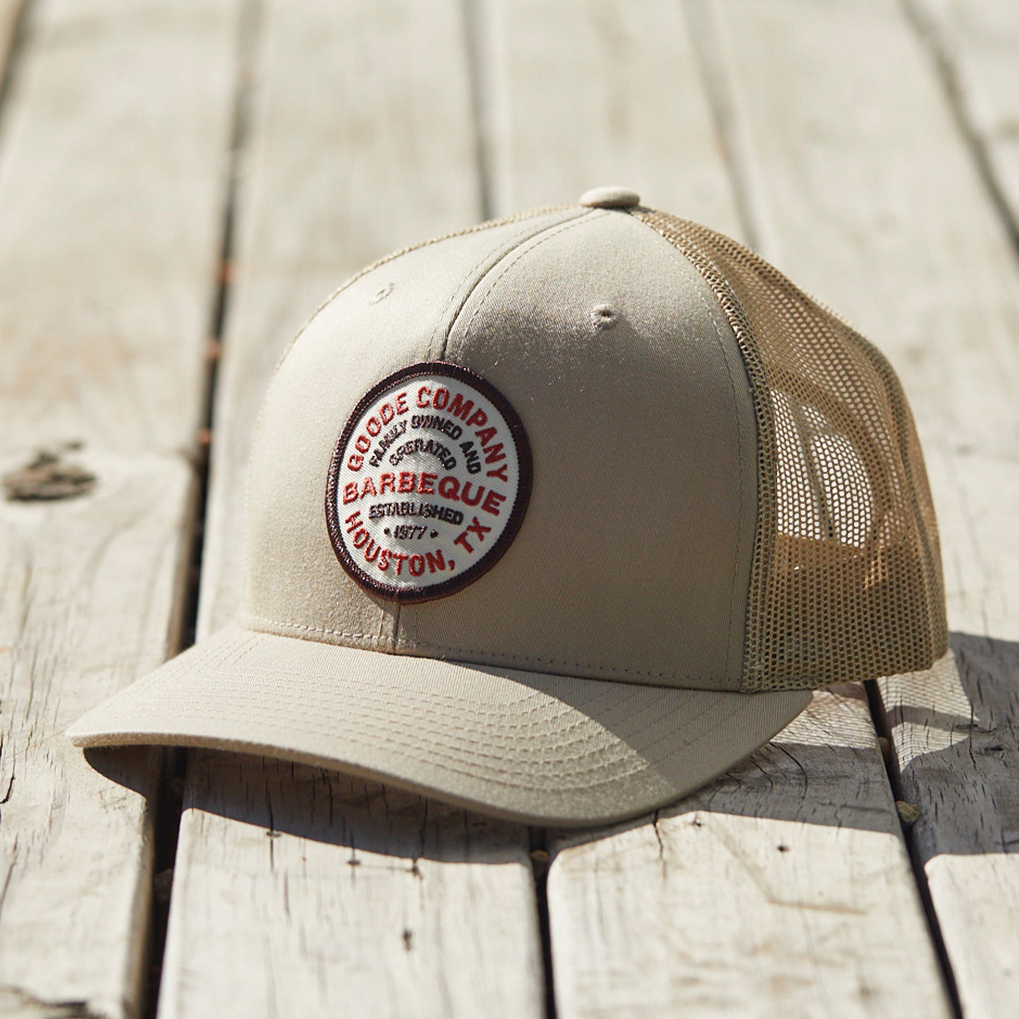 Goode Co BBQ Emblem Hat