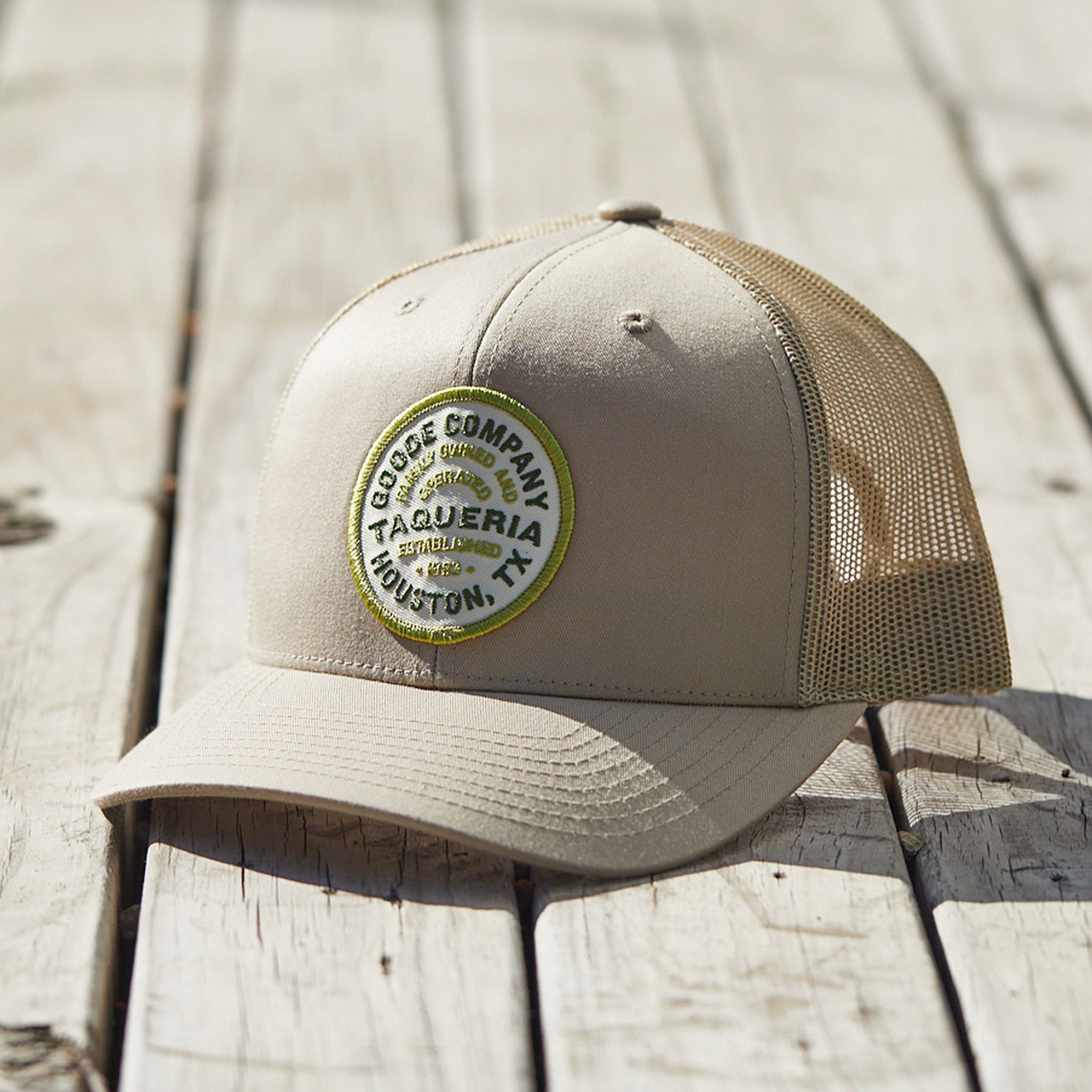 Goode Co Taqueria Emblem Patch Hat