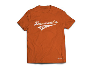 """Product photo for Goode Co's """"Bienvenidos Y'all"""" t-shirt."""