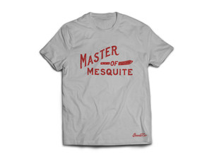 "Product photo for Goode Co's ""Master of Mesquite"" t-shirt."