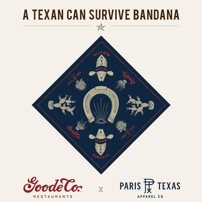 Goode Co. x Paris TX Apparel Co. Bandana