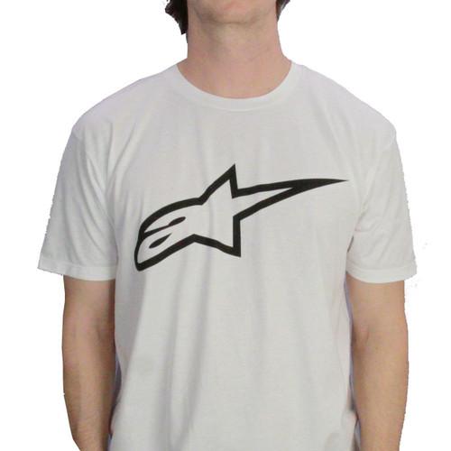 Alpinestars T-Shirt ~ Ageless White