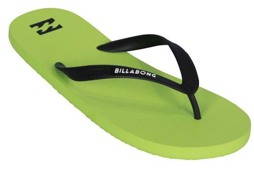 Billabong Water Resistant Mens Sandals ~ Tides Solid lime