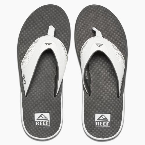Reef Mens Sandals ~ Fanning grey/white