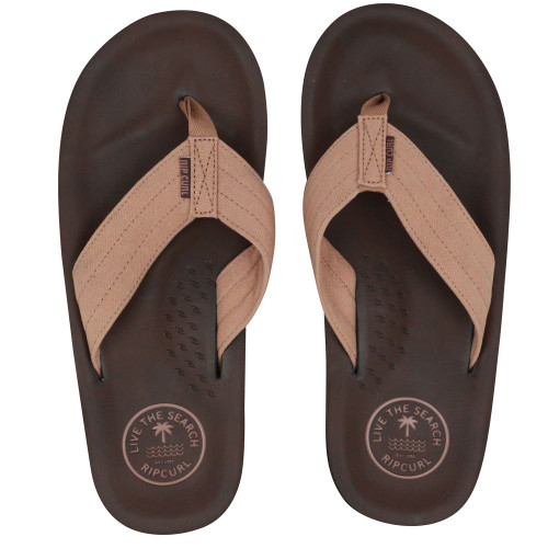 Rip Curl Men's Sandals ~ Og6 tan/brown