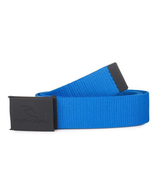 Rip Curl Web Belt With Bottle Opener ~ Corpo blue