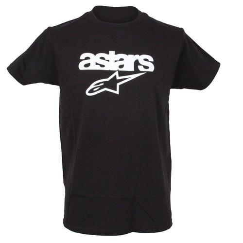Alpinestars Mens T-Shirt ~ heritage Blaze black
