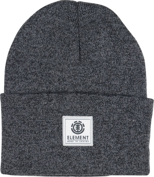Element Knitted Cuff Beanie ~ Dusk II ash